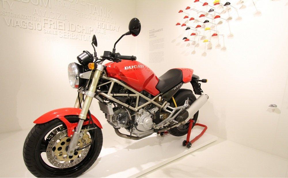Ducati Monster M900 1993 @ Ducati Museum